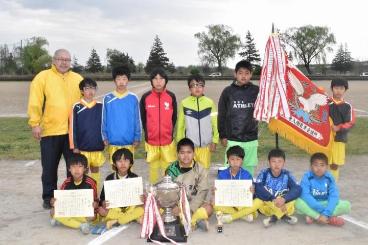 第33回東入間JCカップ争奪少年サッカー大会 表彰式