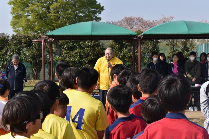 第33回東入間JCカップ争奪少年サッカー大会 開会式