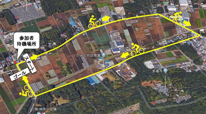 三芳町クリテリウム 待機場所